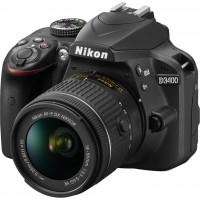 دوربین دیجیتال نیکون مدل D3400 به همراه لنز 18-55 میلی متر VR - Nikon D3400 18-55mm VR Lens Kit Digital Camera