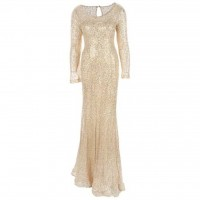 پیراهن مجلسی زنانه گلامورا طرح 10 - Gelamora Pattern 10 Party Dress For Women
