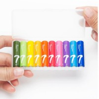 باتری نیم قلمی آلکالاین شیائومی بسته 10 عدد - Xiaomi Alkaline AAA Battery 10Pcs