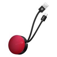 کابل دو کاره قرقره ای بیسوس مخصوص (Android / ios) - (Baseuse New era 2-1 Adjustable Cable (Android / ios