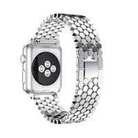 بند فلزی اپل واچ  42mm مدل زنبوری - Bee Metal Band For Apple Watch 42mm