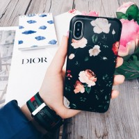 کاور طرح گل مناسب برای آیفون x - flower case For Iphone x