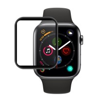 محافظ صفحه نمایش گلس فول چسب Coteetci مدل 4D مناسب برای اپل واچ سری 4 40mm - Coteetci 4D Screen Protector Full Glass For Apple watch 4 Series 40mm