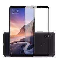 محافظ صفحه نمایش فول گلس  مناسب برای گوشی شیائومی می مکس 3 سفید - 5D Full Glass Screen protector for Xiaomi Mi Max3 White