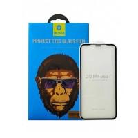 محافظ صفحه نمایش گلس آنتی بلو برند بلو مناسب آیفون ایکس اس مکس مدل Strong HD - Blueo Antiblue 2.5D Protector Glass For Apple iPhone XS MAX