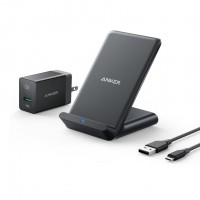 شارژر وایرلس 7.5 وات انکر مدل PowerWave Wireless 7.5 Stand - َAnker 7.5W PowerWave Wireless Charger Stand A2522