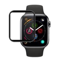 محافظ صفحه نمایش گلس فول چسب HKH مدل 4D مناسب برای اپل واچ سری 4 40mm - HKH 4D Screen Protector Full Glass For Apple watch 4 Series 40mm