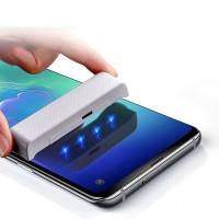 محافظ صفحه نمایش گلس فول چسب UV مناسب سامسونگ اس 10 - Full Glass Protector UV For Samsung S10