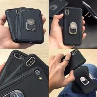 کاور ضدضربه دارای هولدر انگشت مناسب برای آیفون ایکس / ایکس اس برند GKK - GKK Armor Case For Iphone X/XS