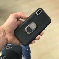 کاور ضد ضربه دارای هولدر انگشت مناسب برای آیفون ایکس اس مکث برند GKK - GKK Armor Case For Iphone XS Max