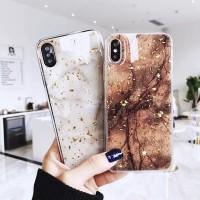 کاور طرح سنگ یخی مناسب برای آیفون ایکس اس مکث - Marble ice case For Iphone XS Max