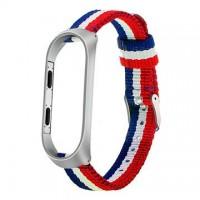 بند کتان دستبند هوشمند مناسب برای می بند 3 - Nato Mi band 3